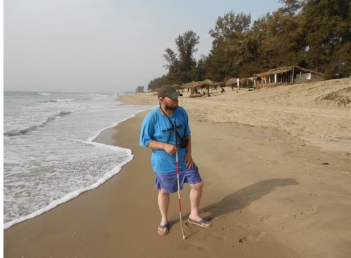 Traveling Blind: Tony Giles Visits West Africa 1