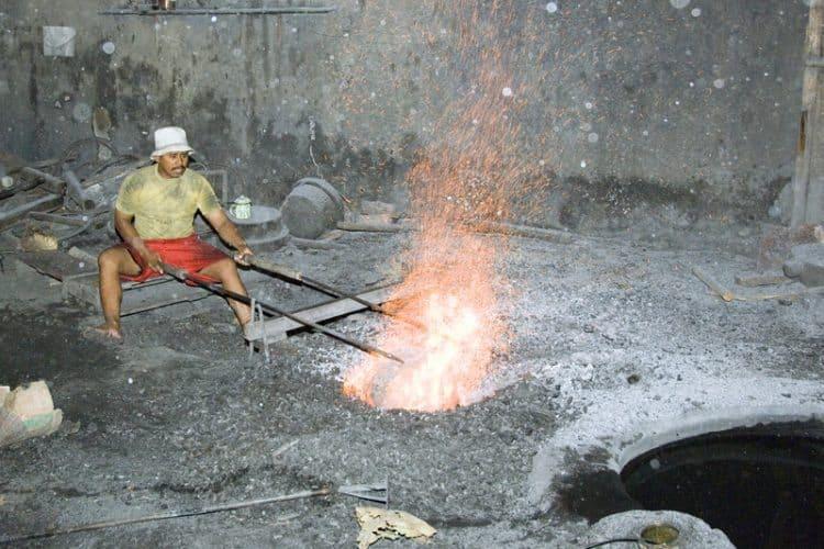 Firing Gamelon.