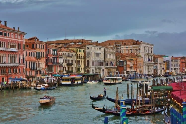 One of Venice's 177 canals