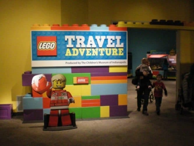 Lego Travel Adventure exhibit at the museum.