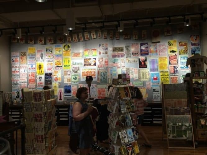 Samples of the thousands of different posters, cards and other printing projects turned out by Hatch Show Print over the centuries.