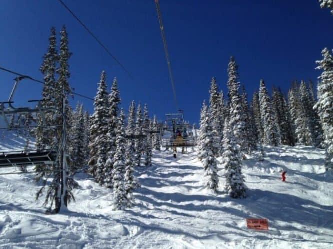 Wolf Creek Ski Resort has solely natural snow
