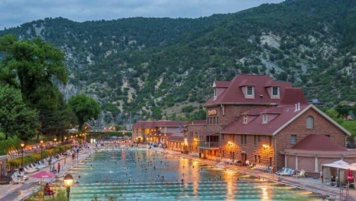 Glenwood Hot Springs, Colorado. Photo credit Colorado.com