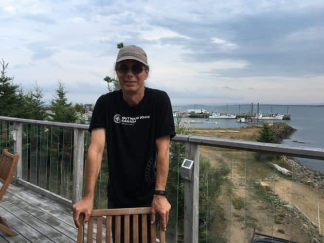 Kevin Sampson runs the Compass Rose Inn and a kayaking business on Grand Manan.