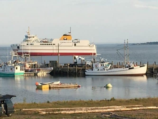 Modern and comfortable ferries make the 2 1/2 hour trip to Grand Manan a pleasant journey.
