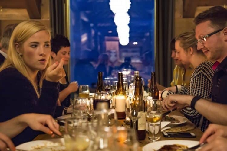 Relaxed dining at uber gastro Restaurant Nyt, Norway