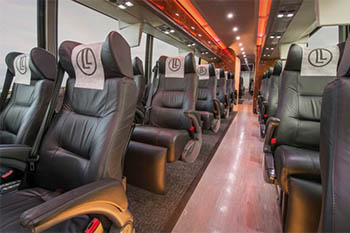 LimoLiner: Luxury Bus from City to City