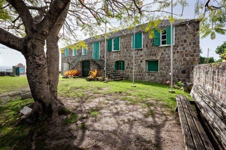 The Hamilton House, Museum of Nevis history.
