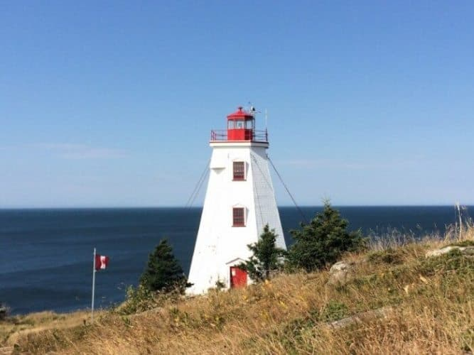 The Swallowtail Lighthouse, dating back to 1860, is kept up by proud locals.
