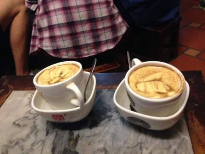 Egg Coffee from Giang Cafe, Hanoi, Vietnam.