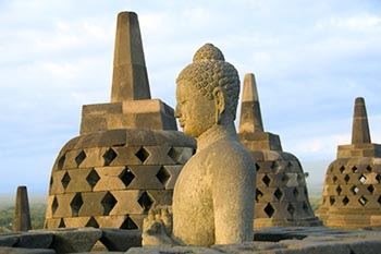 A Java Jaunt to Volcanoes and Temples