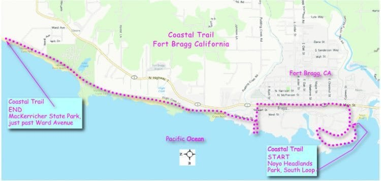 map-of-coastal-trail-route