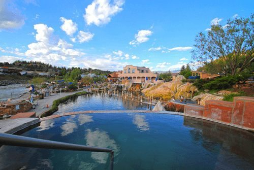 Pagosa Hot Springs was first used by the Southern Ute Indians hundreds of years ago. Today, it is a year-round attraction. Photo credit Colorado.com