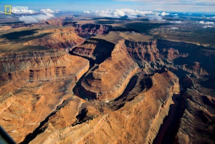 A view of the far side of the Grand Canyon