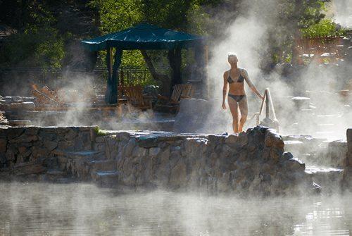 Steamboat Hot Springs, Colorado. Photo credit Colorado.com