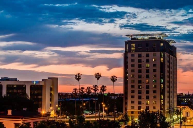 San Jose at night. Flickr photos