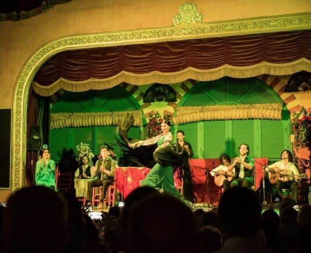 Flamenco show at El Palacio Andaluz