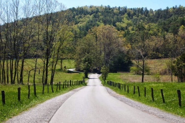 The Great Smoky Mountain National Park, in eastern Tennessee, the number one park for visitors in the US.