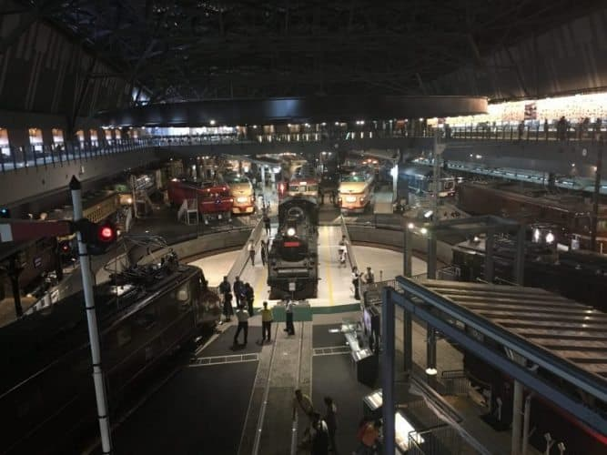 A former locomotive plant has been turned into a huge railway museum in Omiya, Japan.