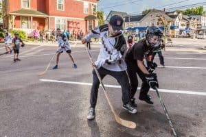 street hockey pei
