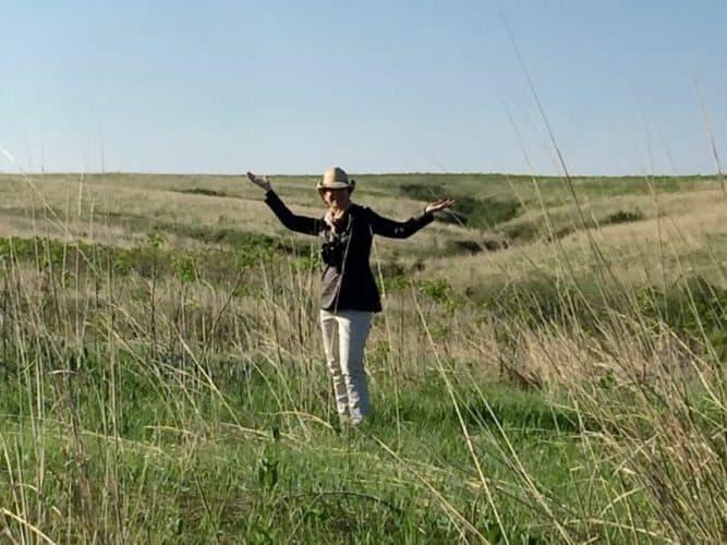 Cathie Arquilla in Nebraska.
