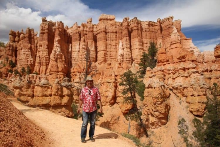 Nick Kontis at Bryce Canyon, Utah.