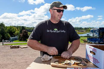 On Prince Edward Island, the Ultimate Shuck