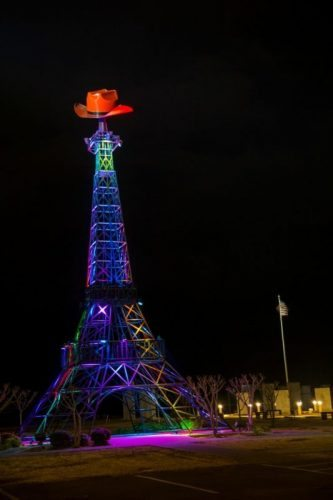 Paris Texas Eiffel Tower   Paris Texas