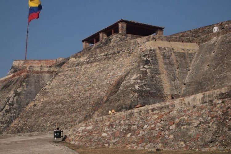 Castillo San Felipe de Barajas, in Cartagena.