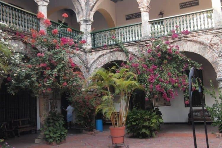 Hotel Casa San Augustin, a former nunnery, in Cartagena.