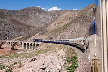 All Aboard the Luxurious Golden Eagle Across Iran