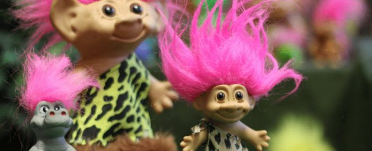Trolls featured in the Troll Hole Museum in Ohio