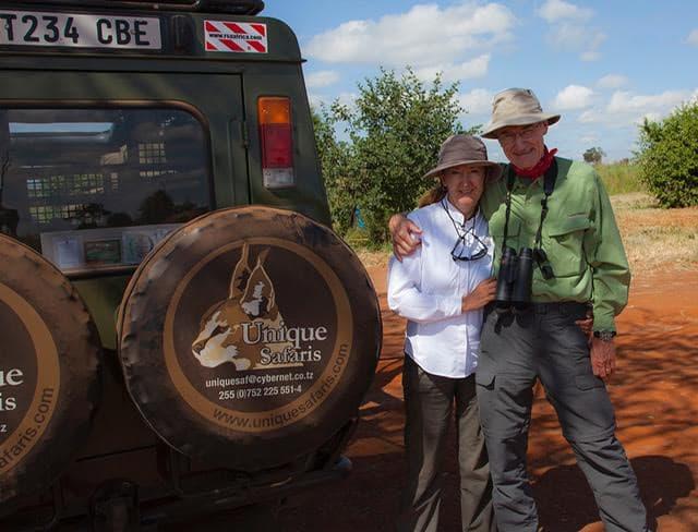 Gary Clark and Kathy Adams (author and photographer)
