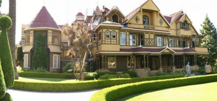 The Winchester House located in San Jose, California