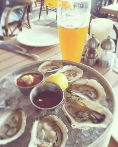 Oysters at The Mooring Seafood Kitchen & Bar