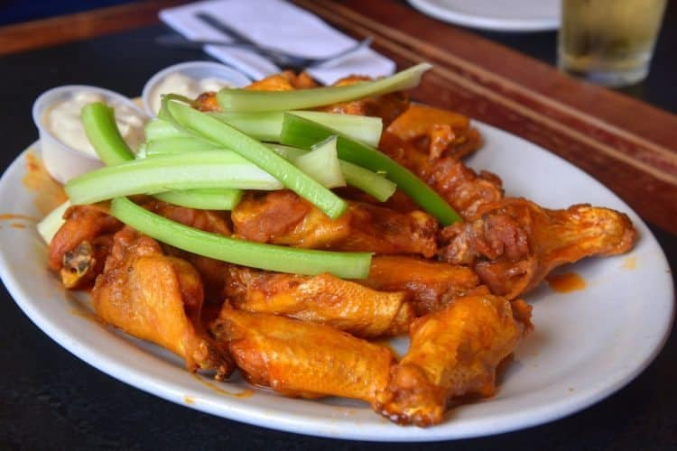Cannot leave Buffalo without trying the chicken wings at AnchorBar, Home of the Original Wings since 1935!