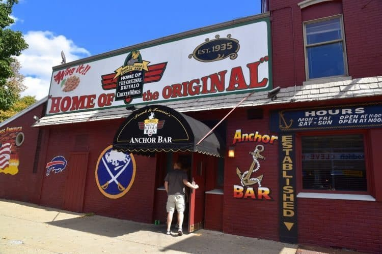 AnchorBar in Buffalo, Home of the Original Buffalo Chicken Wings since 1935!