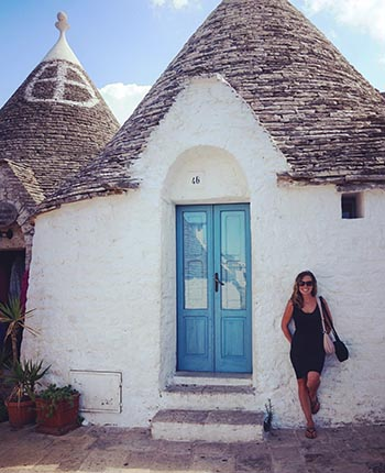 Founder and CEO of Travel Italian Style in Alberobello.