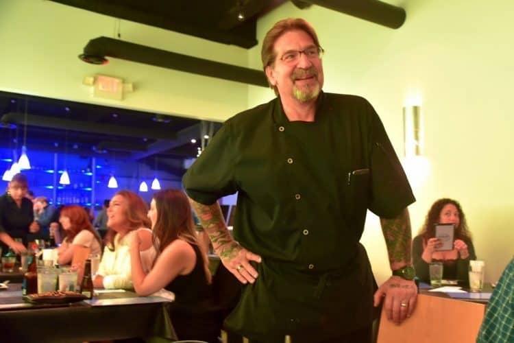 Chef Mike Andrzejewski of SeaBar Sushi restaurant in downtown Buffalo