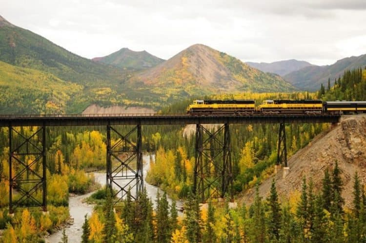 The Denali Star (photo courtesy of Alaska Railroad)