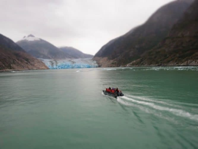 Heading to Dawes Glacier (Photo by Shelley Seale)