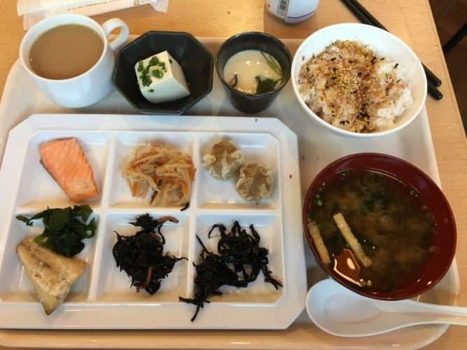 Breakfast at the Hotel Keihan Asakusa was my favorite meal of each day, with so many surprises!