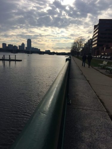 Boston from the Charles River. Sierra Sumner photos.