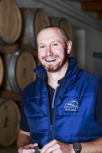 Toit Wessels, Ridgeback's award winning wine maker.