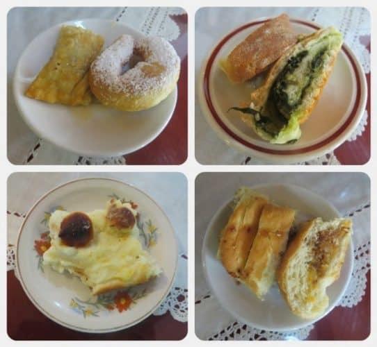 Breakfast pies at Keramos Studios in Crete. Anne Marie Dimech photos.