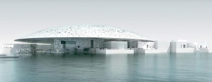 The Louvre Abu Dhabi. Photo from the museum's website.