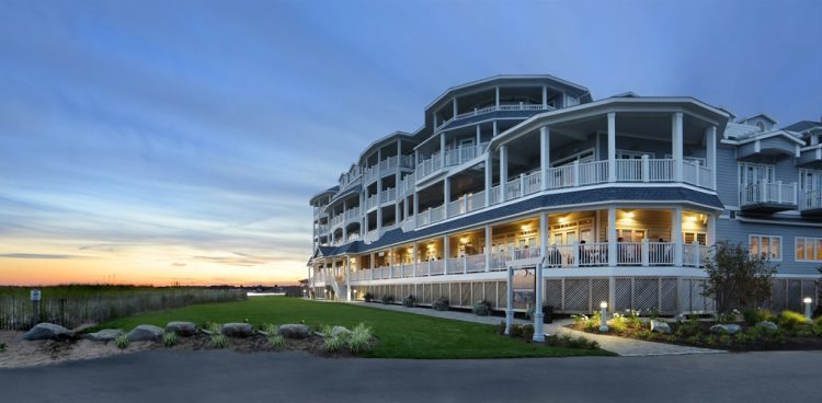 The Madison Beach Hotel , on the Long Island Sound in the pretty town of Madison, Connecticut.