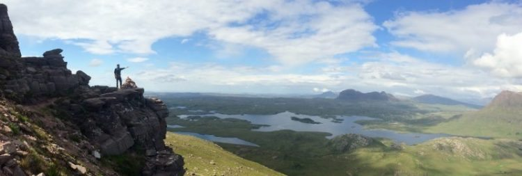 The view from a Wilderness Scotland trip