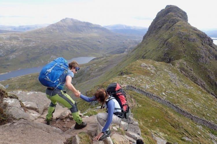 Hiking around Scotland