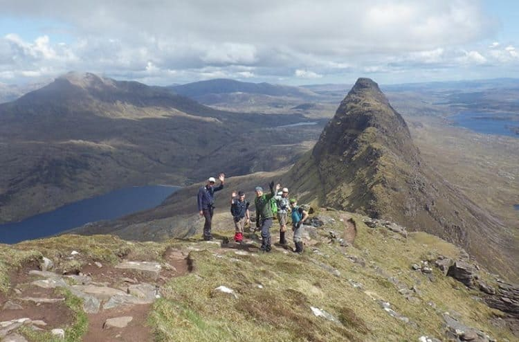 The rugged mountains of Scotland, waiting to be discovered.